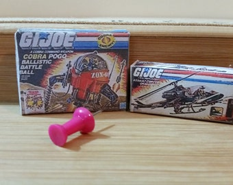 T-5   Miniature GI-Joe toys  boxes only  do not open