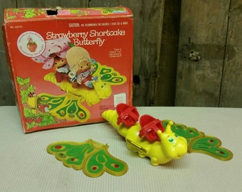 Strawberry shortcake butterfly  Kenner 1980s