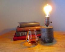 Edison Lamp, Accent Lamp, Desk Lamp, Rustic, Repurposed, Reclaimed, Steampunk, Tree Branch, Maple Tree Limb