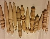 Handcrafted  Christmas  Wood turned ornaments  handmade decorations