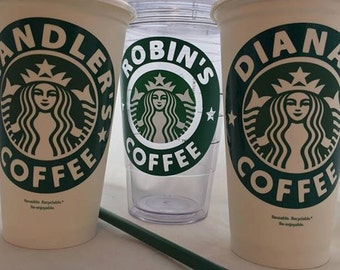Personalized Starbucks Cup|Cold Cup|Acrylic|Double Wall|Glitter|Tumbler|Custom|Coffee|16oz| 24oz|Gift|Teacher|Sticker|Decal|Mug|Name