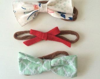 Baby headbands. Baby bow.