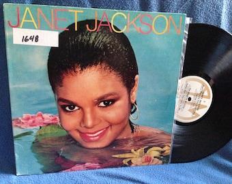 "Vintage, Janet Jackson - ""S/T Debut"", Vinyl LP, Record Album, Original 1982 Press, Young Love, Pop Disco Funk"
