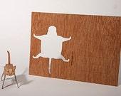 postcard wood - cat 3 cards