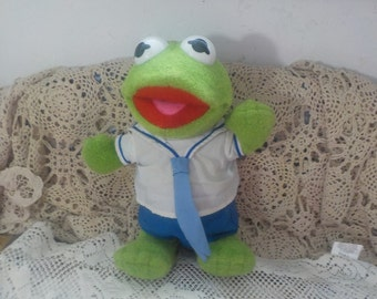 Muppet Babies Little Boppers Baby Kermit  1987 / New Listing Not included in Coupon Sale :)S