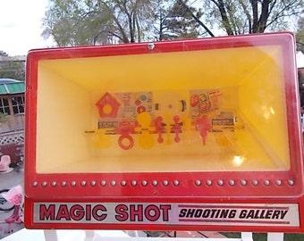 Marx Toys, Vintage Marx Toys,  Magic Shot Shooting Gallery 1973 Marx Toys *~* Vintage Toy, Vintage Shooting Toy, Toys, Movie Prop, S