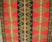 Vintage Ralph Lauren Bath Towel Southwest Style, Native American Design