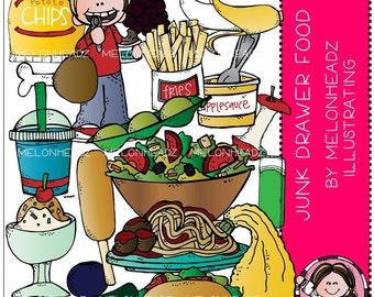 Food clip art - Junk Drawer