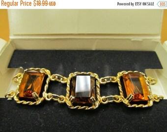 "On Sale SARAH COVENTRY ""Wild Honey"" Bracelet Original Box Item K # 1772"