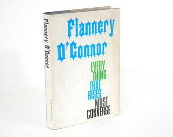 Flannery O'Connor Everything the Rise Must Converge Book Club Edition HC w/Jacket