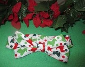 Christmas Scottish Terrier Dog Bow Tie