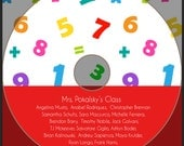 Classroom CD label