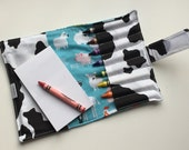 Crayon Wallet Old MacDonald, Barnyard Animals, Birthday Party Favor