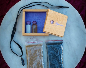 Banishing and curse breaking spell kit