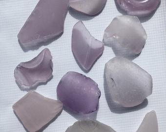 Purple Lavender Sea Glass EXTRA LARGE Very Rare