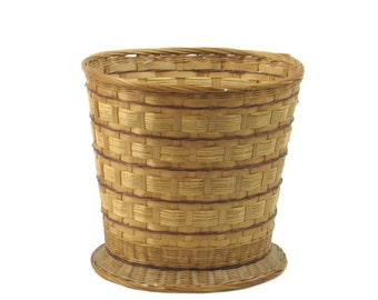 Pedestal Wicker Mail Basket