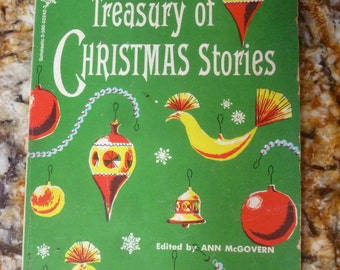 Treasury of Christmas Stories Scholastic 1960 edited by Ann McGovern soft cover