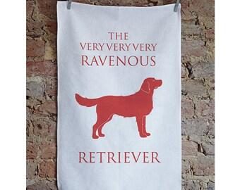 Golden Retriever Tea Towel - Golden Retriever - Golden Retriever Design - Golden Retriever Gift - Goldenretriever - Goldie - Retriever Gift
