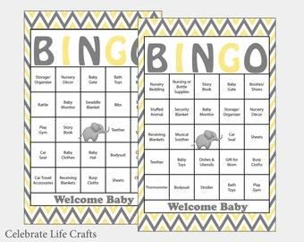 Baby bingo maken