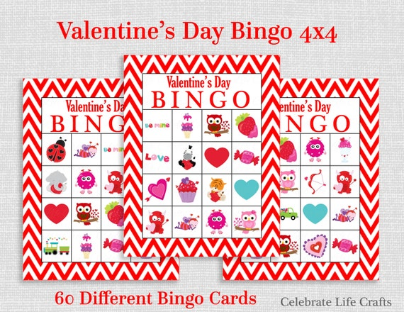 Geeky image for printable valentines bingo cards