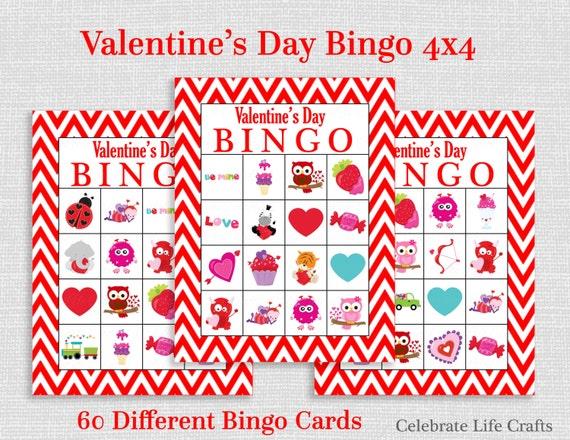Monster image pertaining to printable valentine bingo card