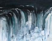 Niagara Falls  - Original Acrylic Painting