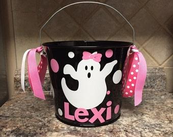 5 QT Halloween Bucket