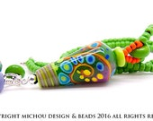 Hope - Art Glass Necklace by Michou Pascale Anderson