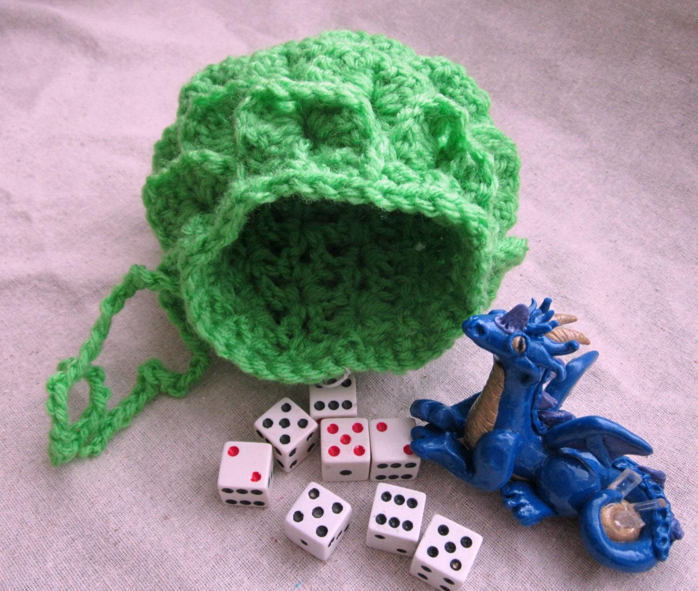 Dragon Egg Dice Bag Crochet Pattern : Dragon Egg Pouch Dragon Dice Bag Dragon Rune Bag Crochet