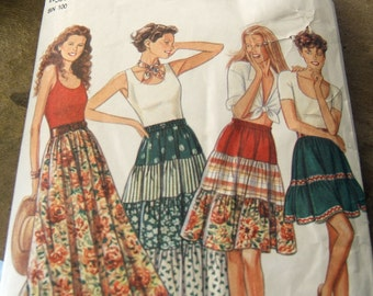 New Look/Simplicity 6051 cut to size 16 womans skirt