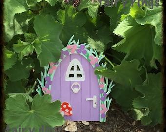 Lilac Magical Fairy Door