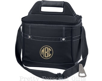 Monogram Cooler Bag, Monogram Cooler, Personalized Cooler, Bridal Party Gift, Wedding Party Gift, Personalized Coolers, Monogram Cooler Bag