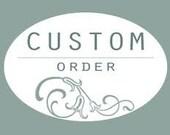 Custom sign order for Janice
