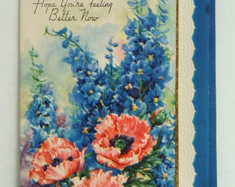 Vintage Get Well greeting cards