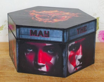 Hunger Games - Mockingjay Hexagonal Wooden Keepsake box