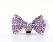Purple Dog Bow Tie, Dog Bow Tie
