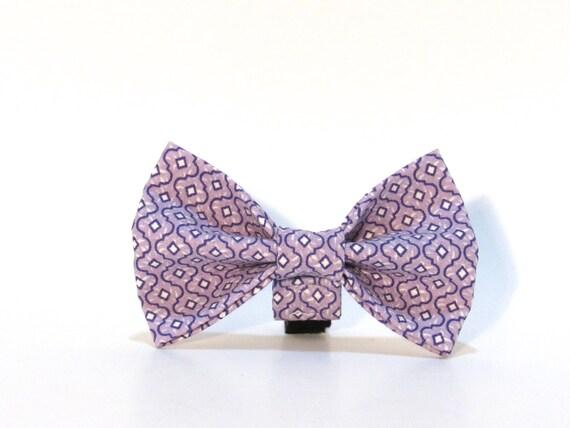 Purple Dog Bow Tie, Dog Bow Tie