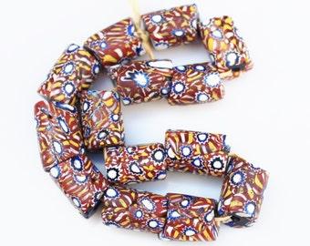 Antique Venetian beads, Millifiori Beads, African Trade Beads (P103)