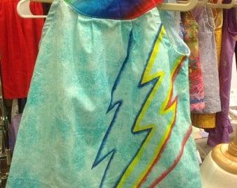 Rainbow Dash-Inspired Top - Toddler sizes 1/2 - 4