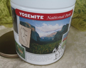 Trails End National Parks  Tin Near Mint Christmas gift decor Yosemite Acadia collectibles