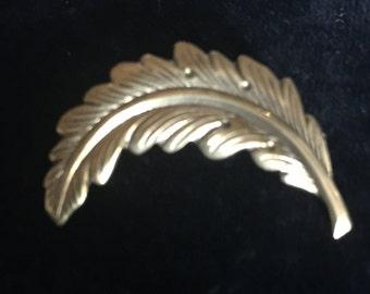 Vintage Leaf Pin