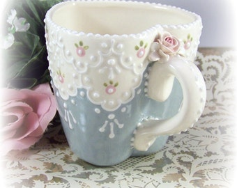 Lace Sweetheart Mug