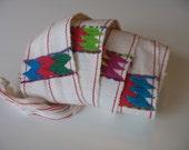 Vintage Guatemalan Woven Belt - Sash Belt