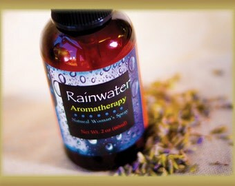 Rainwater Aromatherapy Spray for Women, Pure Essential Oils with Phytoestrogens