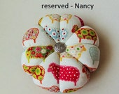 RESERVED LISTING for NANCY Only