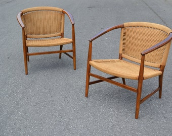 Illum Wikkelso Lounge Chairs