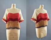 Chunky Knit Sweater for Women | The 'Freerange' Mountain View Sweater | Winter Sweater | Sweater Tunic | Valentines Gift / Love sweater