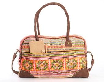 Summer Floral Computer Bag, Messenger Bag, Shoulder Bag, Large Tote, Overnight Bag, Book Bag,