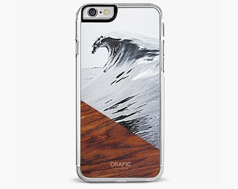 Surfing iPhone 7 Case, Wave iPhone 7 Plus Case Wood iPhone , iPhone 6s case, iPhone 6 plus cover