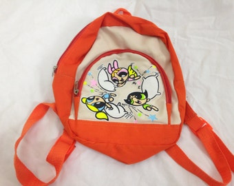 90s power puff girls mini backpack